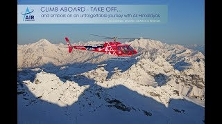 Air Himalayas - Heli Skiing in India.