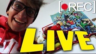MINIGAMES & CLASH ROYALE DALLA MIA VECCHIA CAMERETTA!! - LIVE