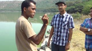 The amazing Lake of Lonar Crater