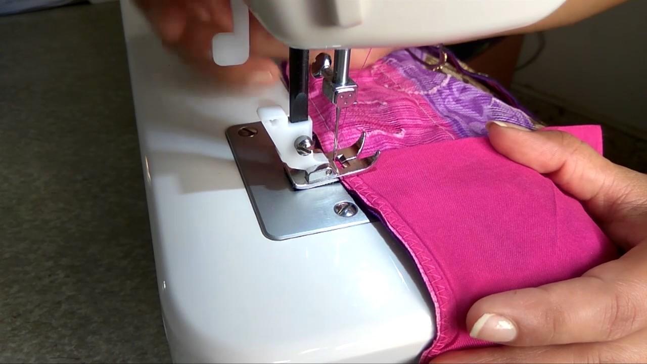 Saree pico( piko) fall stitching with sewing machine at ...
