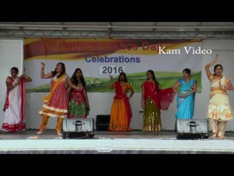 National Integration Dance, Indian Independence Day  London 2016