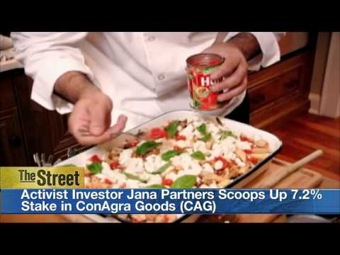 Wall Street Cheers Activist Investor Jana Partners' 7.2 Percent Stake in ConAgra
