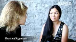 Наталья Водянова на съемке сентябрьского Glamour