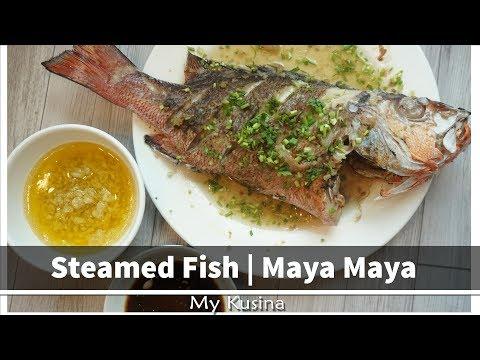 Steamed Fish    Maya Maya