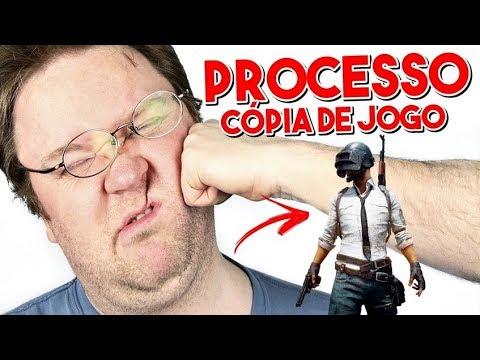 PROCESSO POR COPIAR O JOGO PUBG / RED DEAD REDEMPTION 2 NOVIDADES VINDO