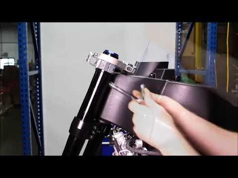 EBR 1190RX/1190SX Service Manual - Suspension - Fork Assembly Installation