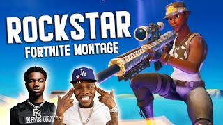 "Fortnite Montage - ""ROCKSTAR"" (DaBaby & Roddy Ricch)"
