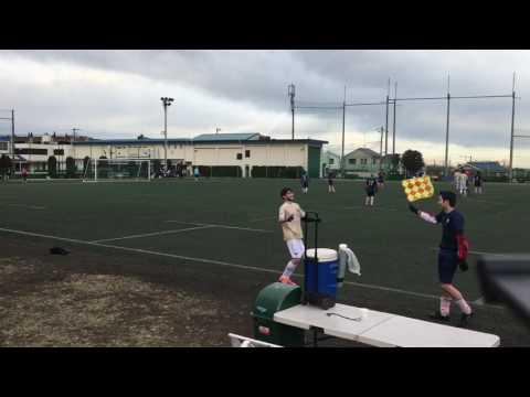 vs Pumas  Cup 2nd half