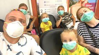 Папа от нас УЕХАЛ ! Кто болен опасным вирусом в семье Николь ?