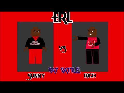 ERL(E Toonz Rap League) Rap Battle