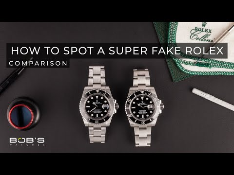 How To Spot a Super Fake Rolex – The $500 Super Fake Studied