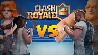 GIRL VS BOY - BATTLE CHALLENGE - CLASH ROYALE POLSKA !!!