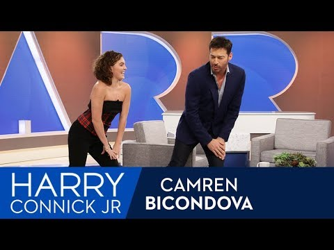 Camren Bicondova Teaches Harry the