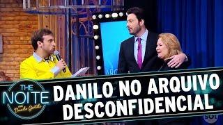 The Noite (26/09/16) - Danilo passa pelo Arquivo Desconfidencial