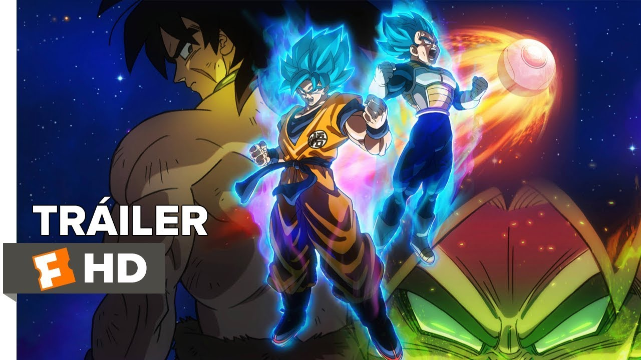 Dragon Ball Super: Broly - Tráiler (Sub. Español) - YouTube