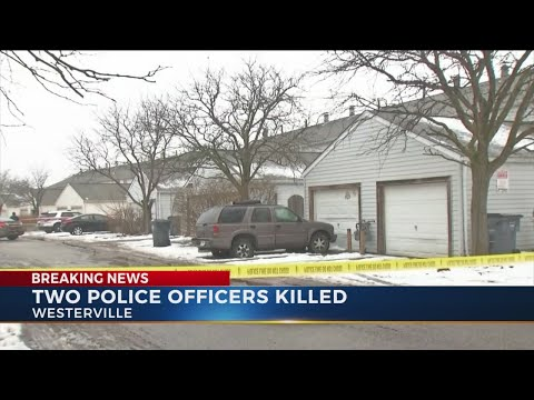 Two Westerville police officers shot and killed