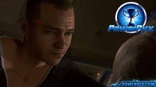 Detroit Become Human - SELF-CONTROL Trophy Guide (Markus Endures Leo)
