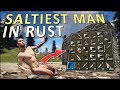 COUNTER-RAIDING the SALTIEST MAN in RUST! - Rust Solo Survival #3