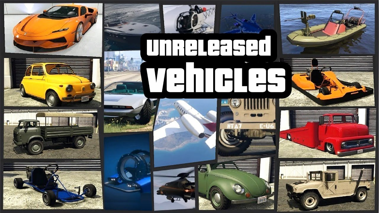 Gta V Online All New Unreleased Vehicles New Clothes Masks And Everything Added Youtube