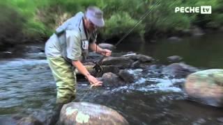 Pêche à la mouche dans la Creuse