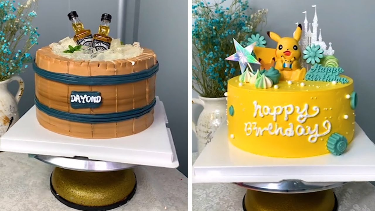 TOP 10 DIY Cake Decorating Tutorials For Family - Perfect ...
