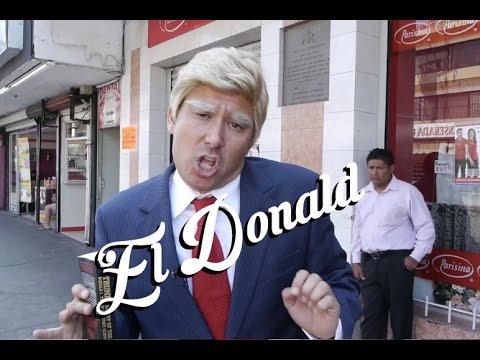 Donald Trump Goes to Mexico! (Impression)