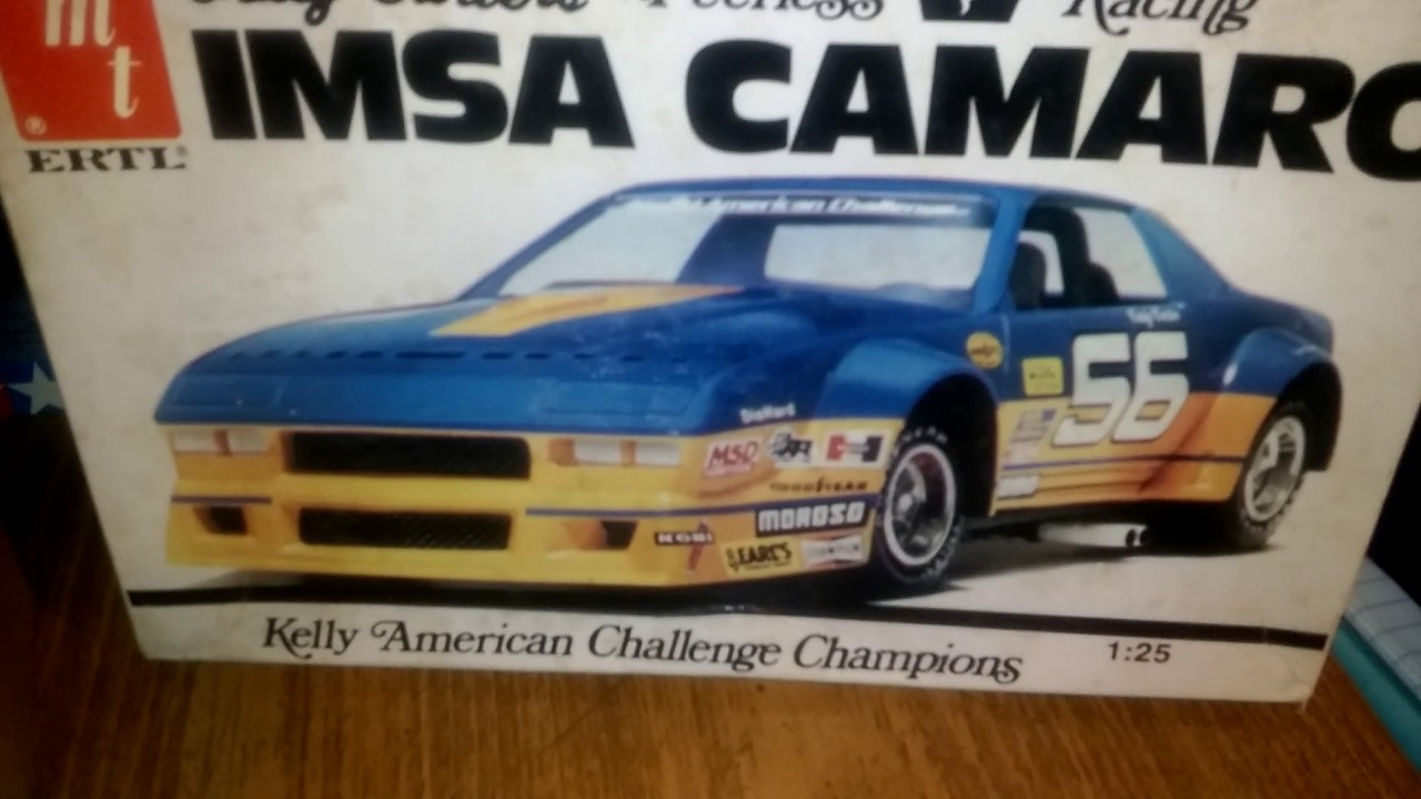 IMSA camaro model kit