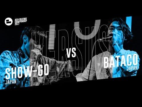 Show-go (JPN) vs Bataco (JPN)|Asia Beatbox Championship 2017 Top 4 Solo Beatbox Battle