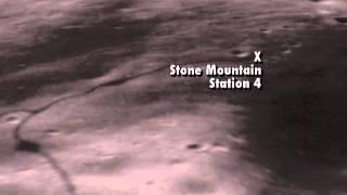 Apollo 16 Landing Site Flyover