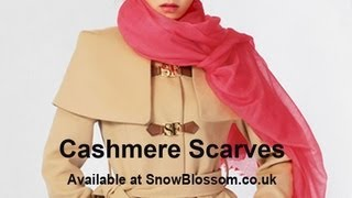 The Finest, Lightest & Softest Cashmere Scarves on Earth - Great Mother