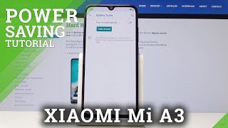 How to Activate Power Saving Mode in XIAOMI Mi A3 - Extend Battery Life