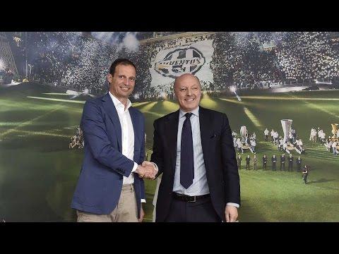 Allegri rinnova con la Juventus - Allegri extends Juventus contract