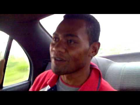 Fijian Joke. Taxi driver job.