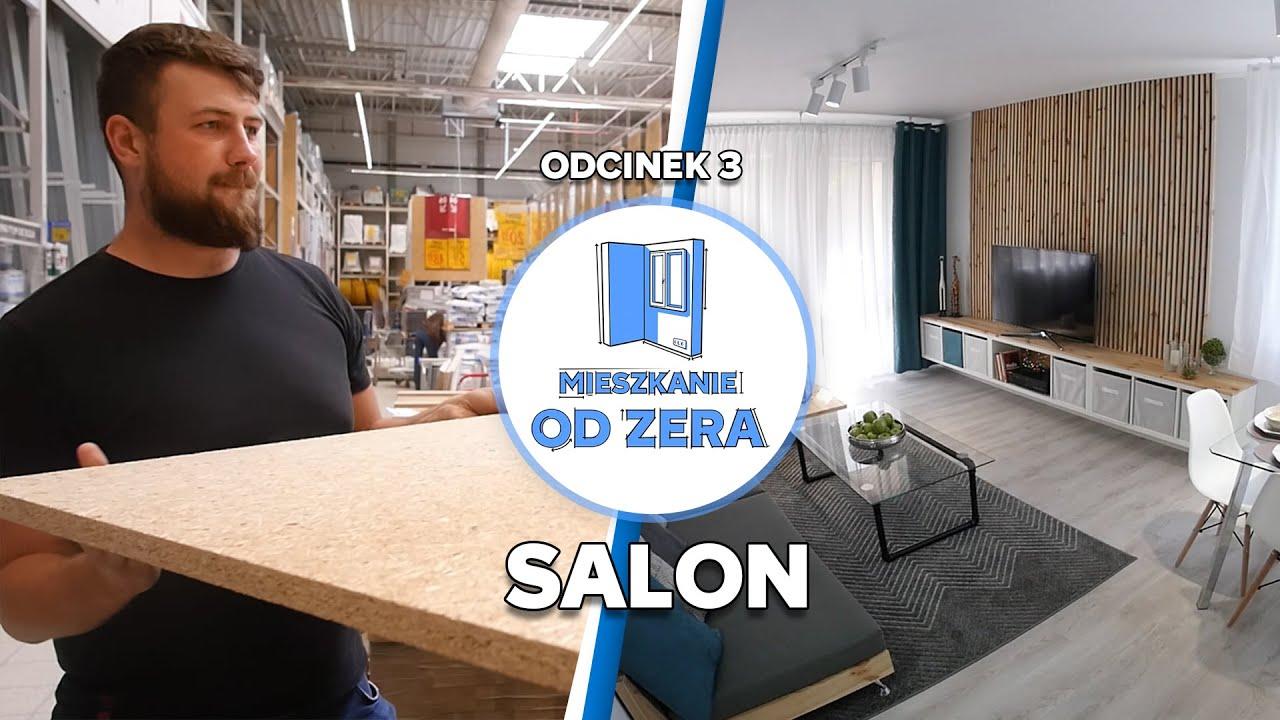 MIESZKANIE OD ZERA #3 – Salon