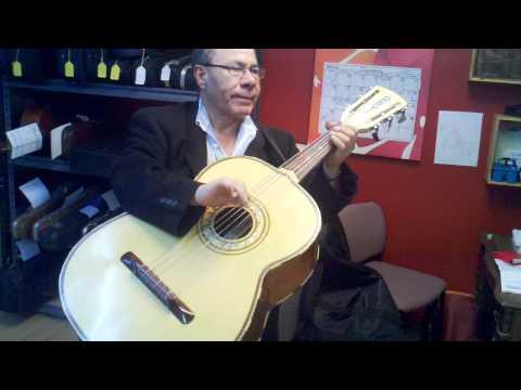 Mariachi bass (guitarron) maestro
