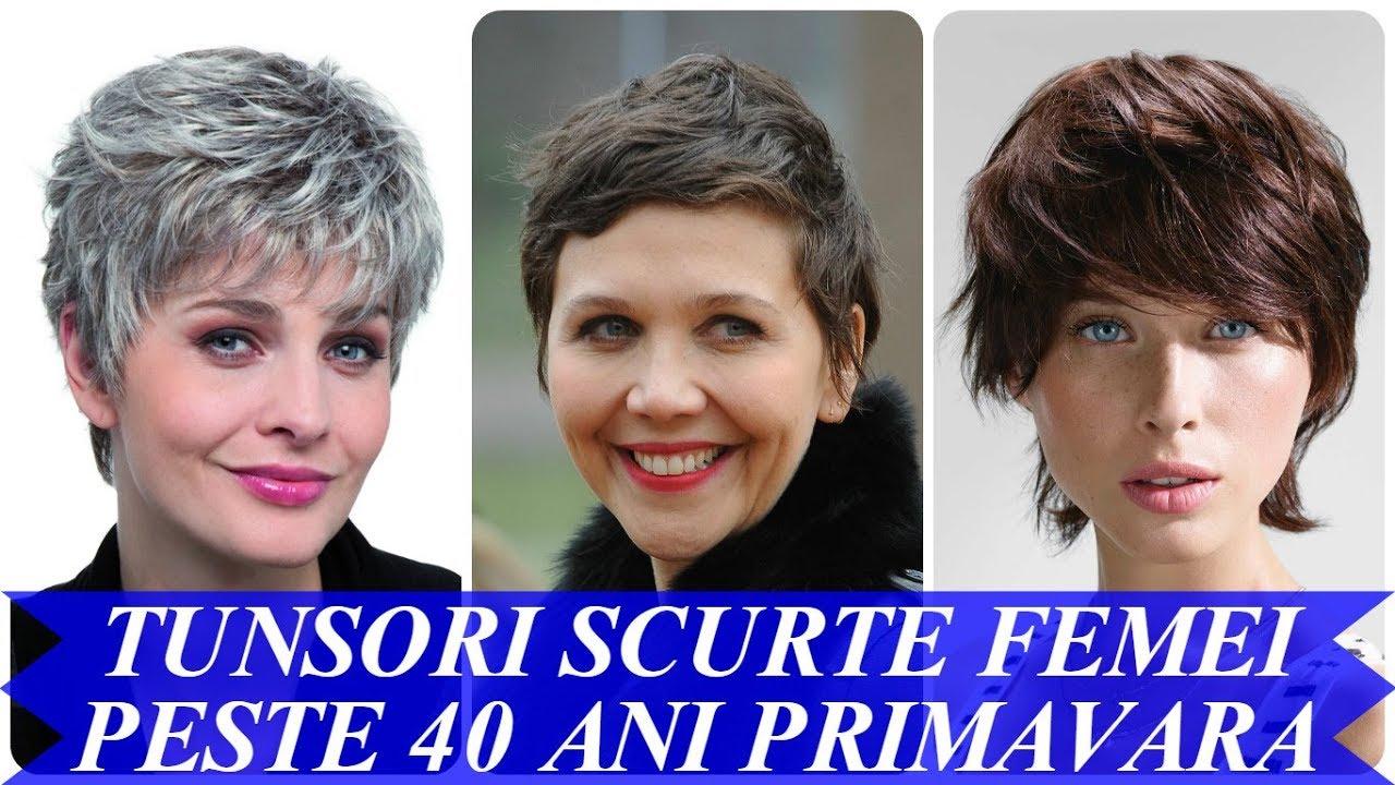 Modele De Tunsori Scurte Moderne Femei Peste 40 Ani Primavara 2018
