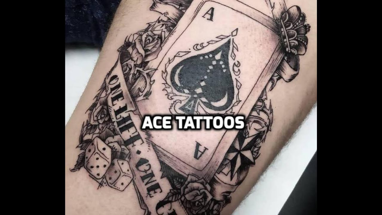 Ace Tattoos Best Ace Tattoo Designs
