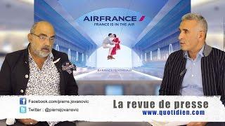"""P. Jovanovic - F. Dimino : Revue de presse """"spéciale Air France"""""""