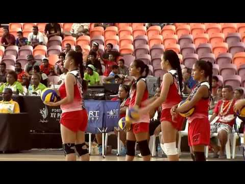 Pacific Games  2015  D11 VBF G2 TAHITI vs WALLIS & FUTUNA