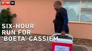 Scott Arendse ran for six hours with a cooler box in honour of Cape Town's famous ice-cream man, Mogamat 'Boeta' Cassiem.  In early June, during an EWN investigation into the impact of the lockdown on the sports industry,  Boeta Cassiem explained how he was dealing with no income due to the suspension of sport and the challenges he faced with his poor eyesight because of cataracts.  After funds were raised thanks to generous fans of 'Boeta' Cassiem, the operation took place on Saturday.  Arendse ran for six hours over the weekend as Cassiem underwent the first of two operations.