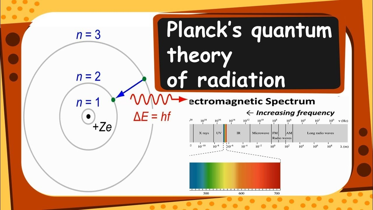 Chemistry - Planck's quantum theory of radiation - Structure of Atom - Part  5 - English