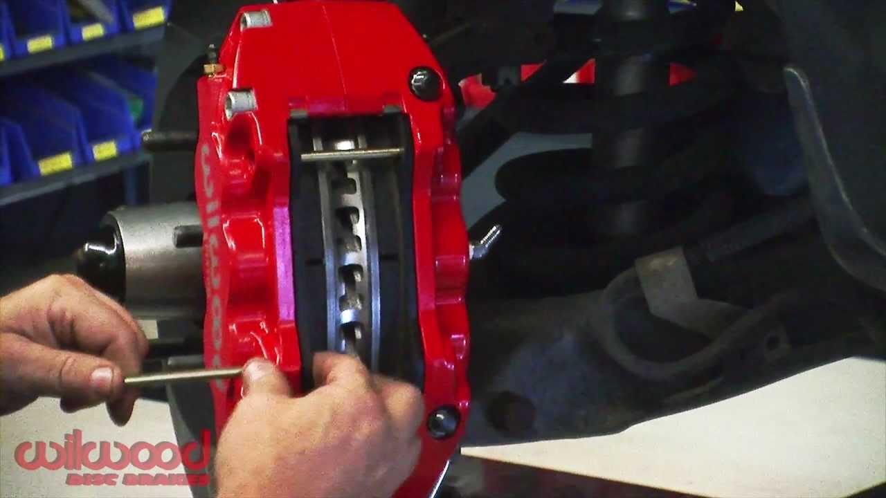 ford f150 wilwood brake install [ 1280 x 720 Pixel ]