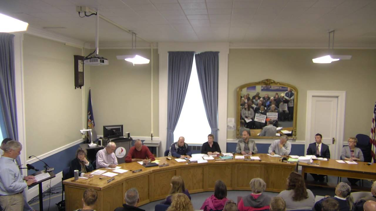 City of Plattsburgh, NY Meeting  10-13-16