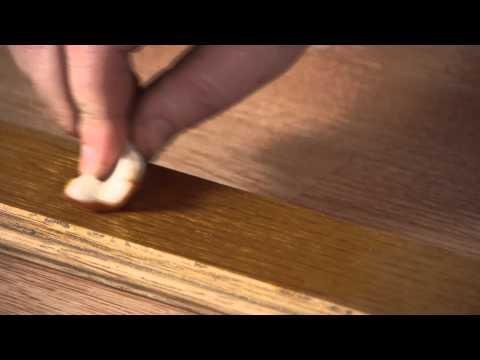 fix wood floor dog scratches