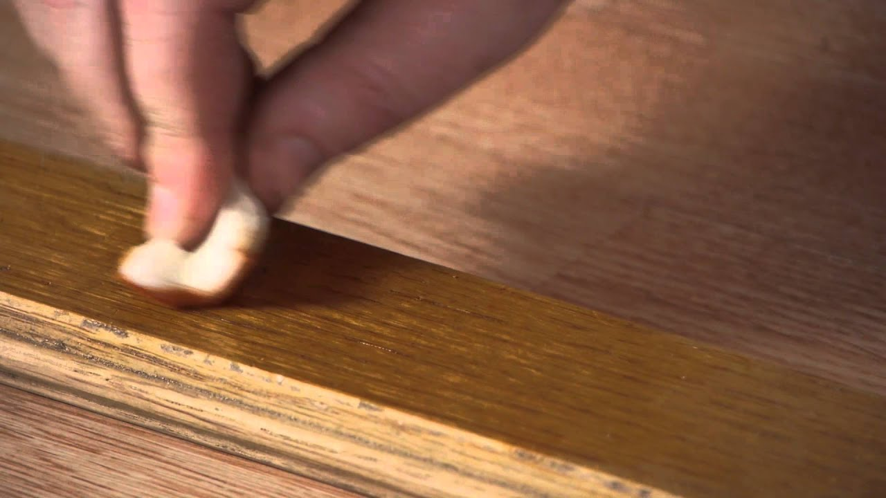 How to Fix Scratches in Prefinished Wood Floors  Woodwork u0026 Carpentry - YouTube & How to Fix Scratches in Prefinished Wood Floors : Woodwork ...