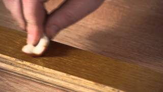 How to Fix Scratches in Prefinished Wood Floors : Woodwork & Carpentry