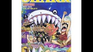 ONE PIECE Anime Eiichiro Oda color walk Lion 5 artbook by Takamura Store Mp3