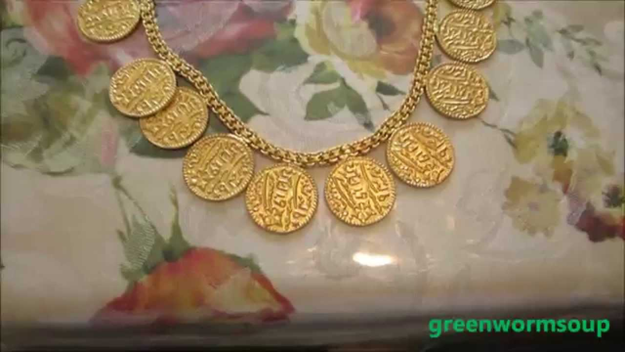 10.5 Ounce 24K Gold Necklace - YouTube