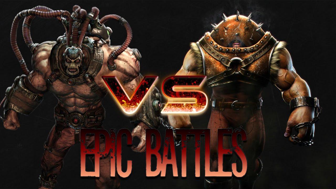 epic battles juggernaut vs bane episode 4 season 1