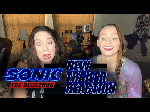 Sonic the Hedgehog New Official Trailer (#2) REACTION